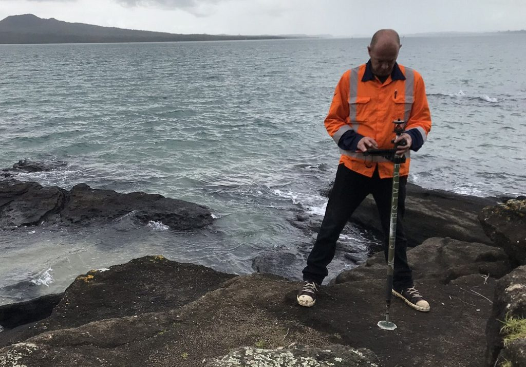 land surveyor Dan - aerialsmiths nz
