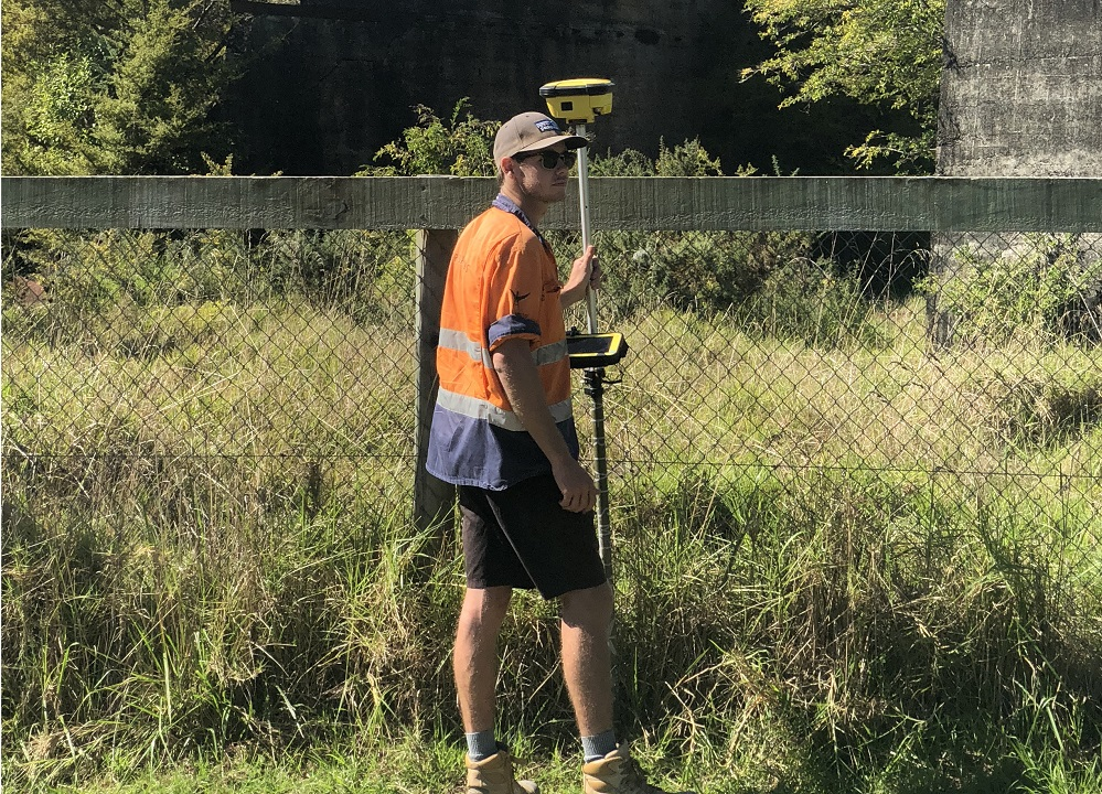 land surveyor Felix - aerialsmiths nz