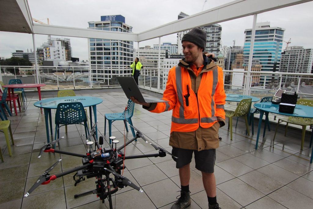 land surveyor Will - aerialsmiths nz